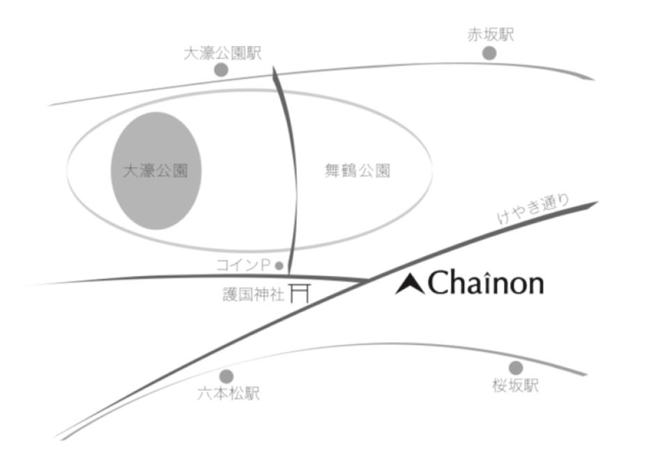 Chainon地図